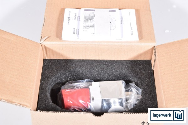 PFEIFFER VACUUM AVC 016 SA, PF A31 003 / PFA31003, Eckventil - NEU