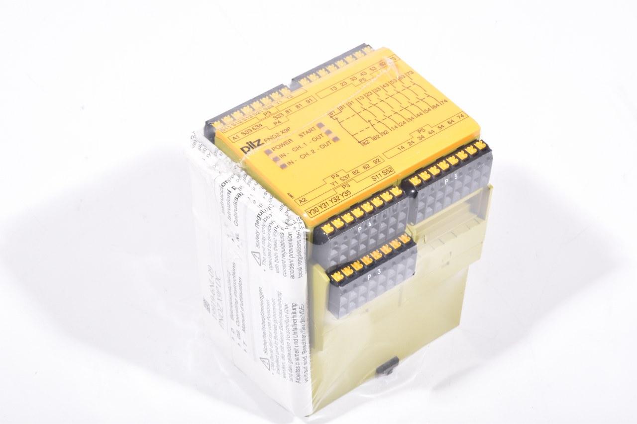 Pilz 787609 Pnoz X9p C 24vdc 7n O 2n 2so Safety Relay New Wiring A Lagerwerk Gmbh