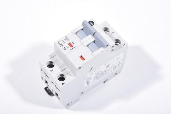 ALLEN BRADLEY 1492-SP2C130 / 1492SP2C130, Leitungsschutzschalter C13, 2 polig