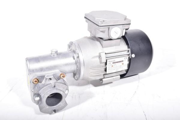 REXROTH 3842503783, 637101, Drehstrommotor + 3842527870, Aufsteckgetriebe