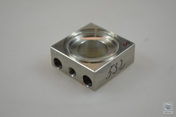 Linse für Laseranwendungen Wellenlänge 532nm / Lens for laser applications wavelength 532nm