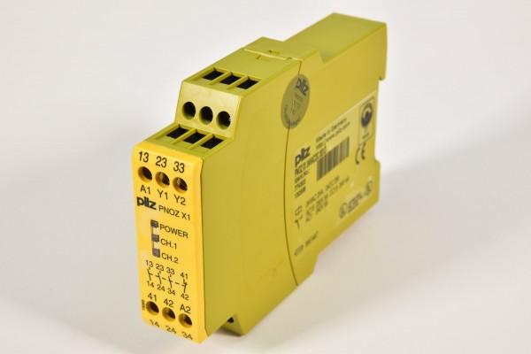 Pilz 774300, PNOZ X1 24VACDC 3S10, Sicherheitsschaltgerät