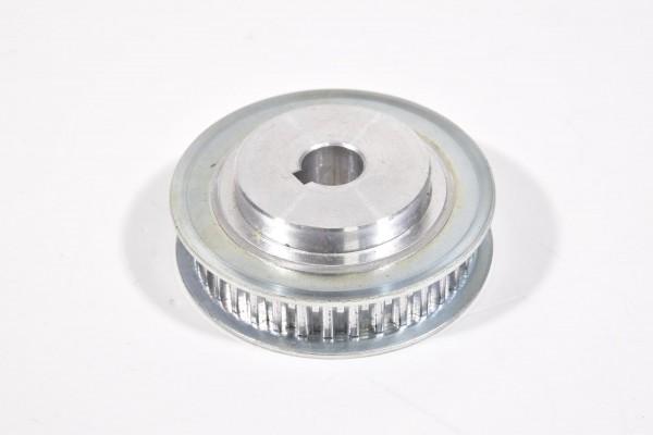 Zahnriemenscheibe, 36 Zähne, Naben d12mm, Außen d62mm, Aluminium