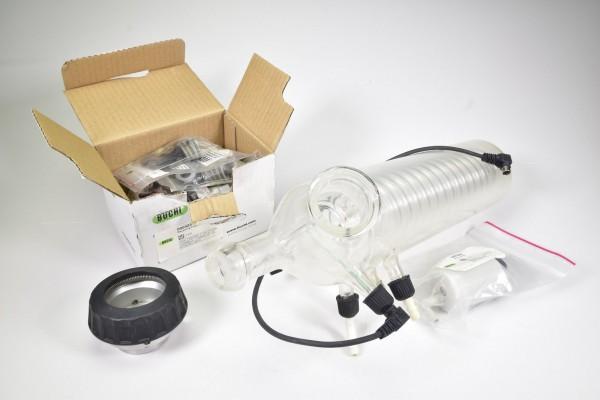 BÜCHI, Senkrechtkühler für V-700/710 Vakuumpumpe mit Ersatzteilen