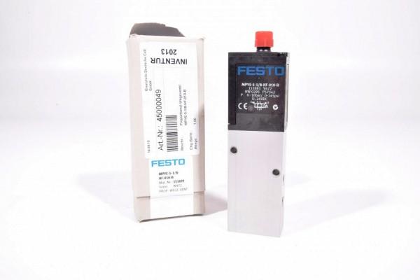 FESTO 151693, MPYE-5-1/8-HF-010-B, Proportional-Wegeventil
