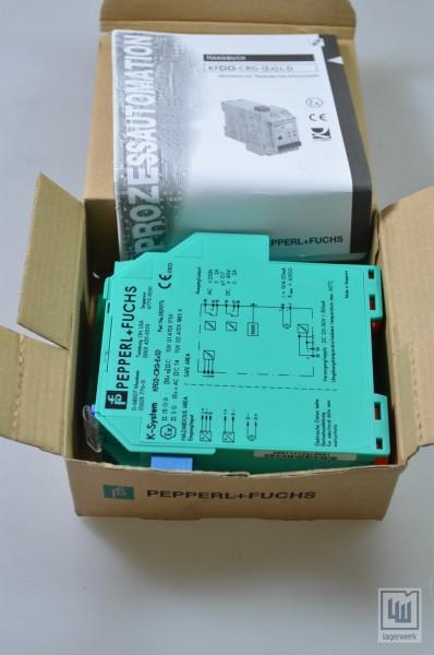 PEPPERL+FUCHS 051097, KFD2-CRG-Ex1.D / KFD2CRGEx1.D, Transm.-Speisegerät - NEU