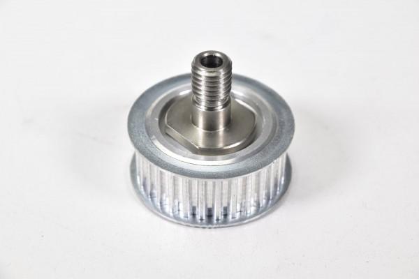 Zahnriemenscheibe Stahl mit Verschraubung Außen-Ø 50mm Riemenbreite 18mm