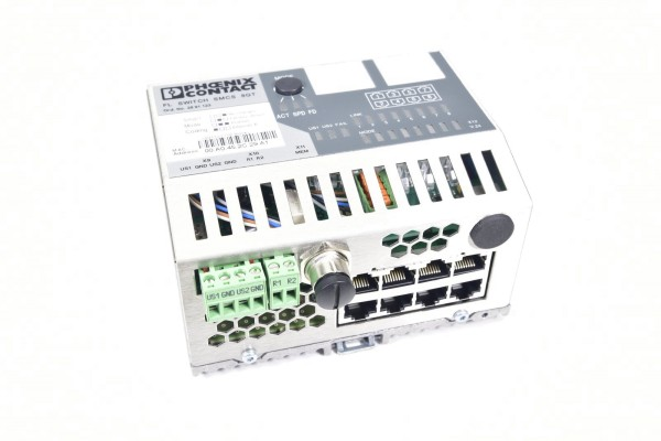 PHOENIX CONTACT 2891123, FL SWITCH SMCS 8GT, Industrial Ethernet Switch 24VDC