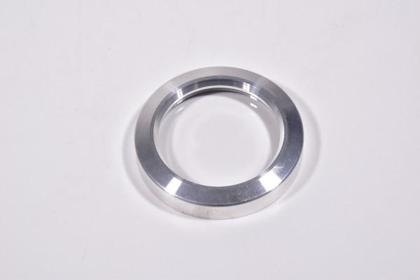 Schauglas ISO-KF DN 40, Außen Ø57mm, Scheibe Ø40mm