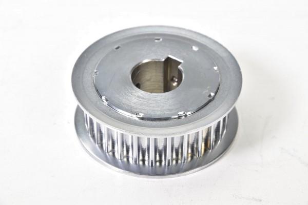 Zahnriemenscheibe Stahl Außen-Ø 80mm Riemenbreite 24mm