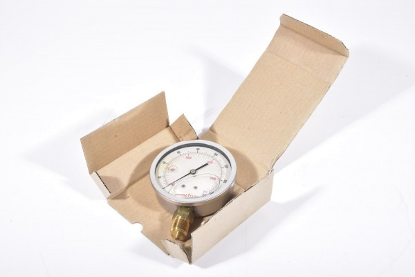 HANSA FLEX GMM 100-160, Rohrfedermanometer 160 bar