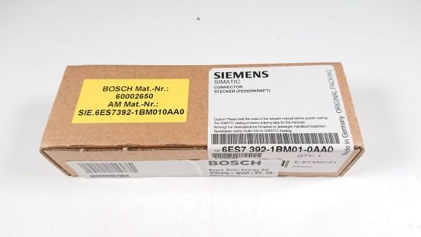 SIEMENS 6ES7392-1BM01-0AA0, SIMATIC S7-300 Frontstecker