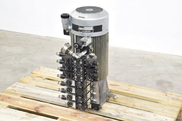HAWE 84142501-01, HKF489LD/1M-H6, Pumpenaggregat mit 7 Ventilen