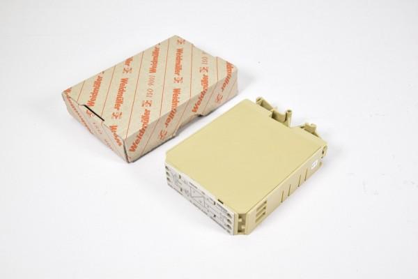 WEIDMÜLLER 116546, EMA EG4 PT100/3 0-10V, Temperaturmessumformer - NEU