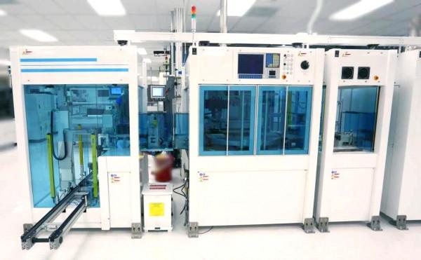 Applied Materials (BACCINI) Metallisierungslinie - Solarwafermodule Soft Line