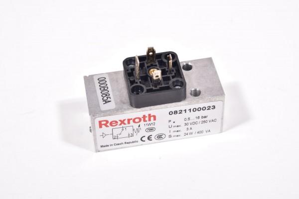 REXROTH 0821100023, Mechanischer Druckschalter Serie PM1 ohne Leitungsdose
