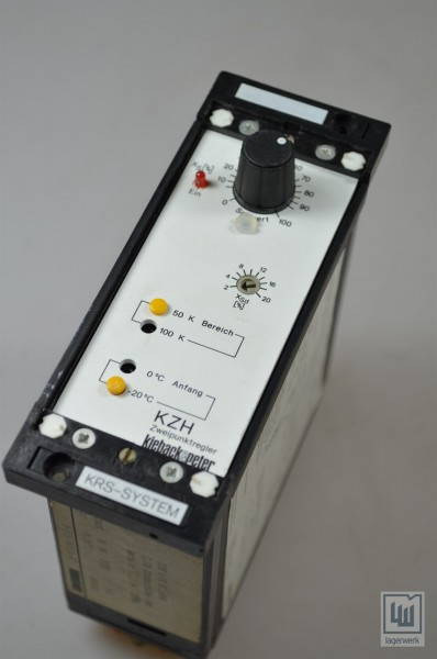 Kieback+Peter, KZH, Zweipunktregler / on-off controller
