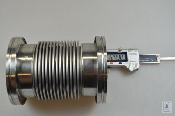 Flexrohr / Flexschlauch Metall / Flexible Hose metal, L=125mm / D=68/95mm