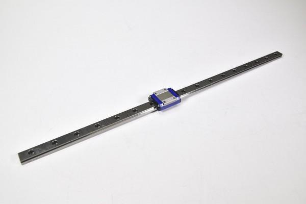 NSK PU12, Linearführung L=420mm mit Führungswagen