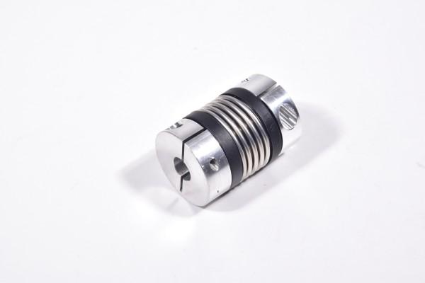 R+W, Balgkupplung L40mm, außen Ø30mm,1.Aufnahme=8mm,2.Aufn.=10mm