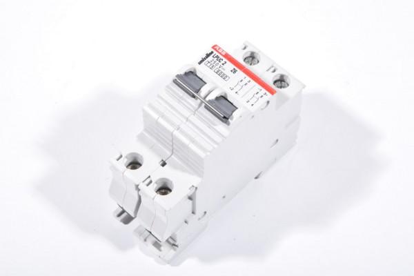 ABB LPUC 2 Z6 / LPUC2-Z6 / LPUC2Z6, Leitungsschutzschalter Z6, 250V DC, 2 polig