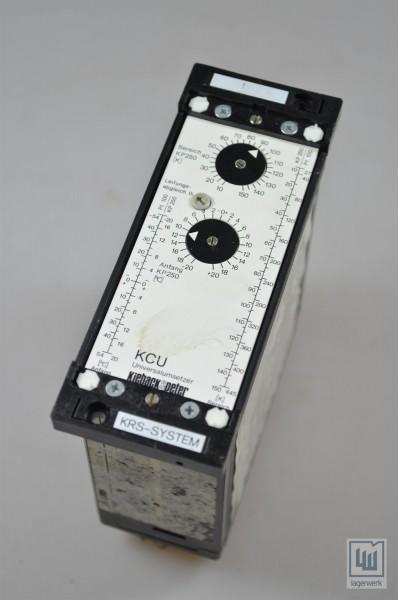 Kieback+Peter, KCU, Universalumsetzer / universal converter