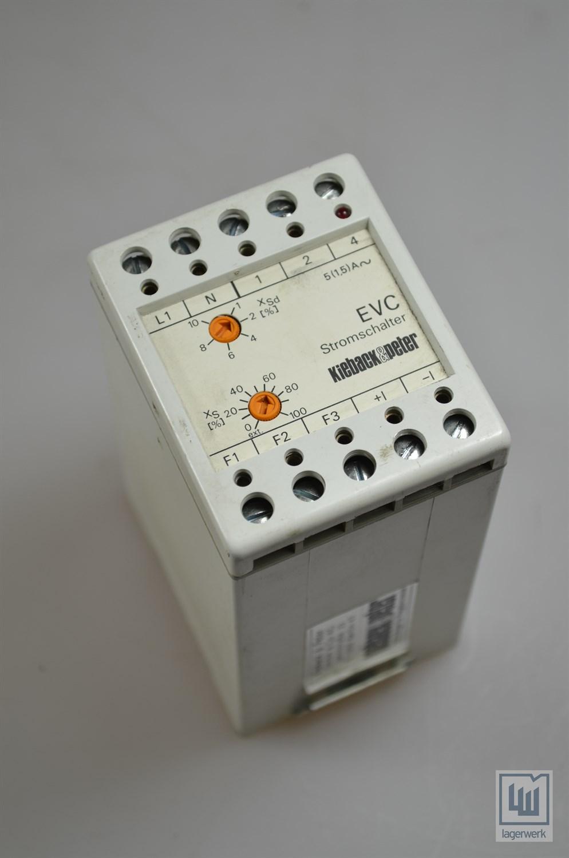EVC, Kieback+Peter Stromschalter / power switch | Lagerwerk GmbH
