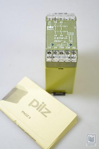 PILZ 474780, PNOZ 9 2S / PNOZ92S, Sicherheitsrelais - NEU