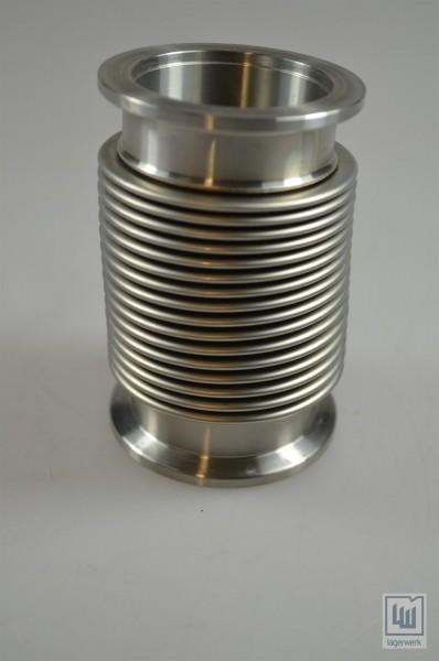 Flexrohr / Flexschlauch Metall / Flexible Hose metal, L=84mm / D=55/40mm
