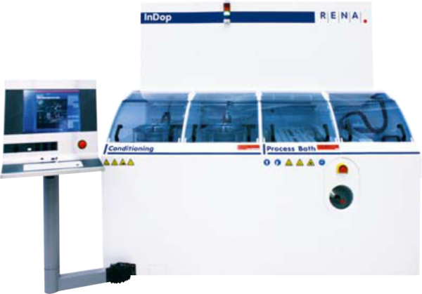 RENA InDop HT Inline doper with soft rollers