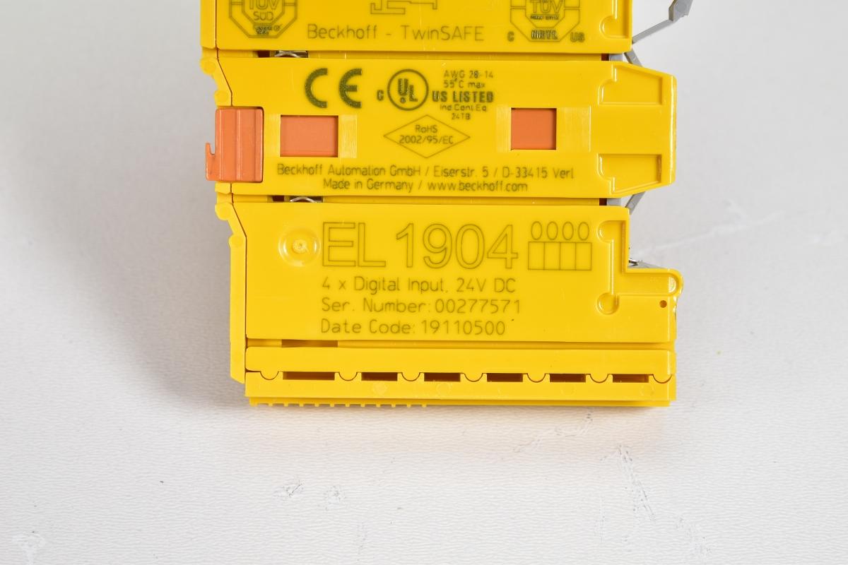 4x Digitaleingang 24VDC BECKHOFF EL1904