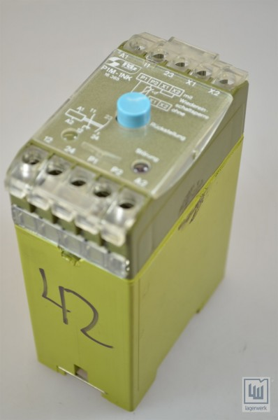 PILZ 479120, P1M-1NK/42V~/1A1R / P1M-1NK/42VAC/1A1R, Sicherheitsrelais / safety relay