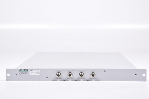 ANRITSU MN7484A, RF Interface Unit for Diversity, S/N: 6200752356