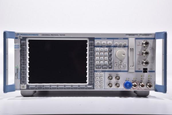 ROHDE & SCHWARZ 1138.4000.83 + 1140.2101K02, CRTU-RU, Protokoll Tester SN 100113