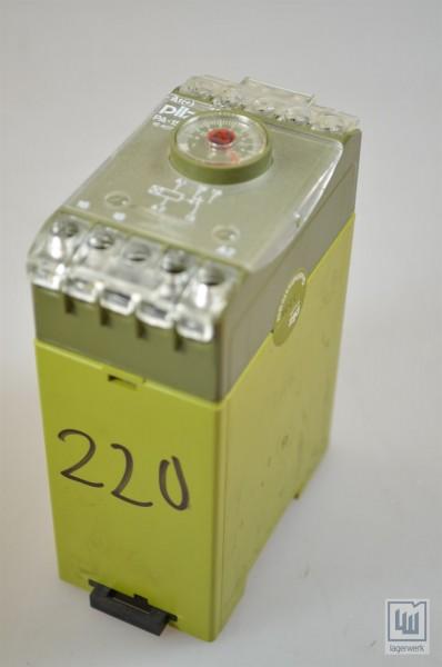 PILZ 445660, PA-1S/100s/220V~/1Uz / PA-1S/100s/220VAC/1Uz, Zeitrelais / safety time relay