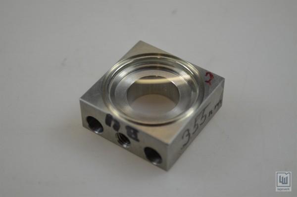 Linse für Laseranwendungen Wellenlänge 355nm / Lens laser applications wavelength 355nm