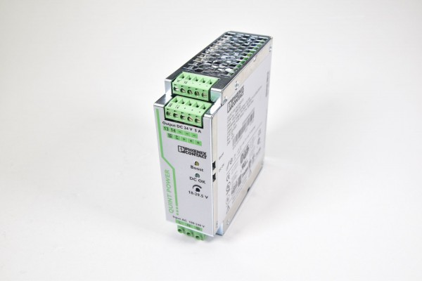 PHOENIX CONTACT 2866750, QUINT-PS/1AC/24DC/5, Stromversorgung Rev05