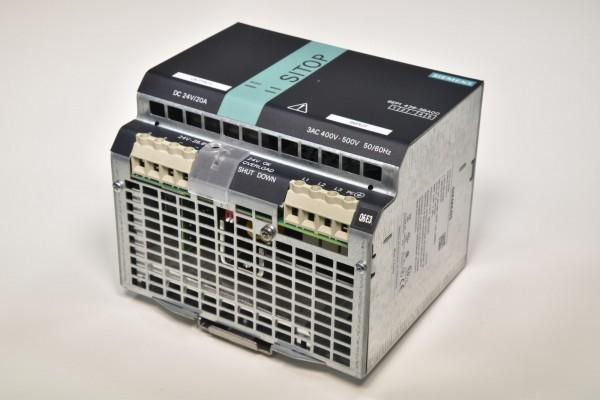SIEMENS 6EP1436-3BA00, SITOP modular 20 A Geregelte Stromversorgung E:Stand 3