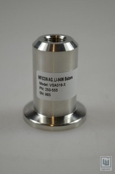 Inficon Vakuum-Ventil / Vacuum Pressure valve, VSA016-X, PN 250-555