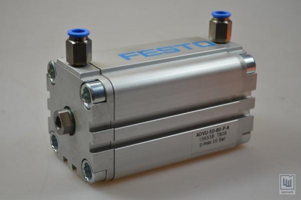 FESTO ADVU-50-80-P-A / ADVU5080PA, 156558, Kompaktzylinder