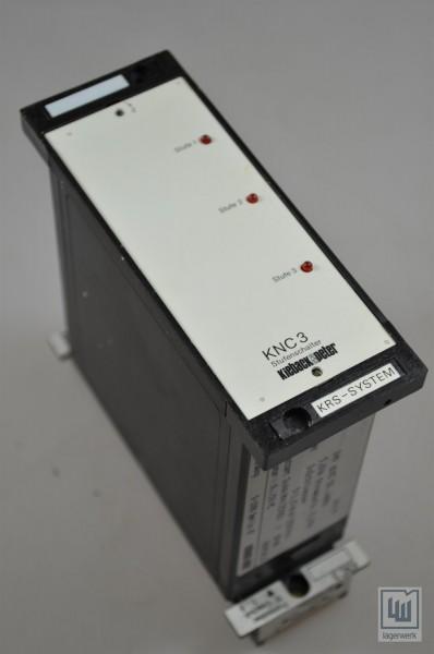 Kieback+Peter, KNC3, Stufenschalter / step switch