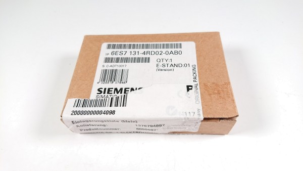 SIEMENS 6ES7131-4RD02-0AB0, Elektronikmodul ET 200S