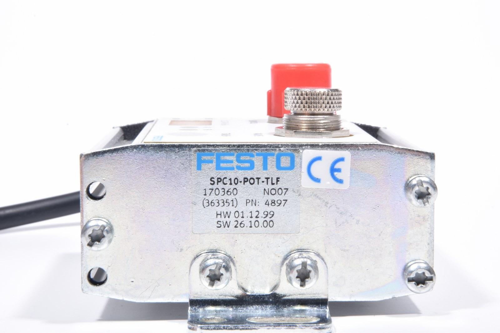 End position controller SPC10-POT-TLF FESTO MINT CONDITION