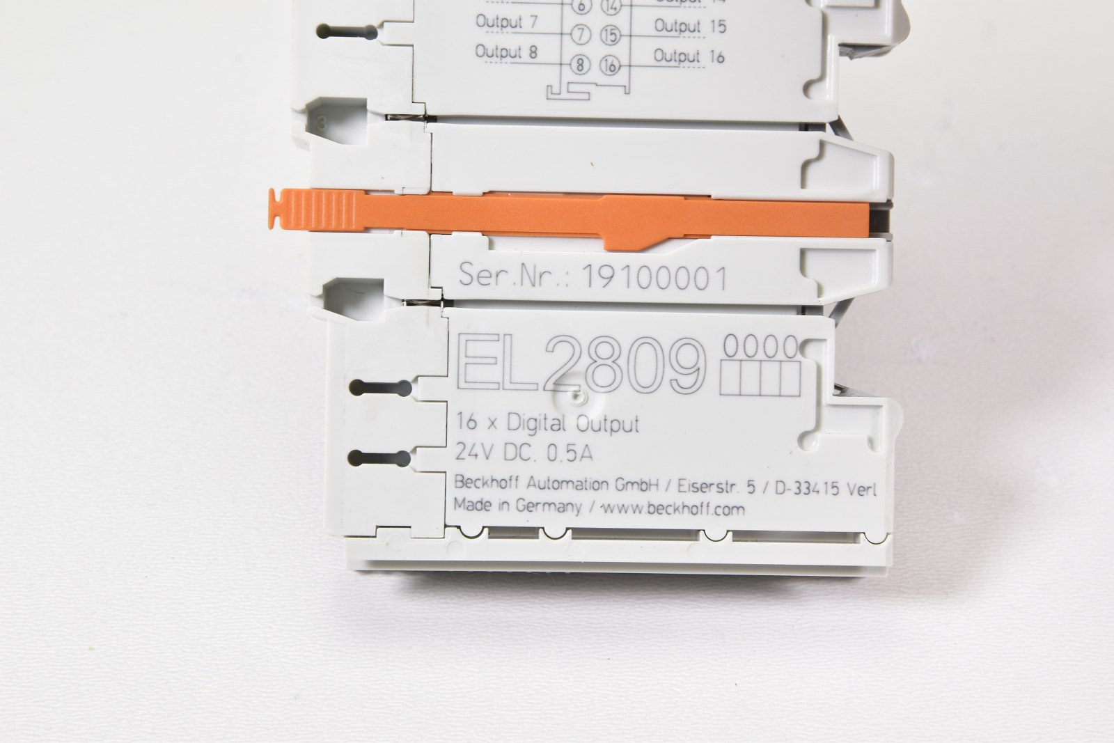 Beckhoff 16-Kanal-Digital-Ausgang EL2809
