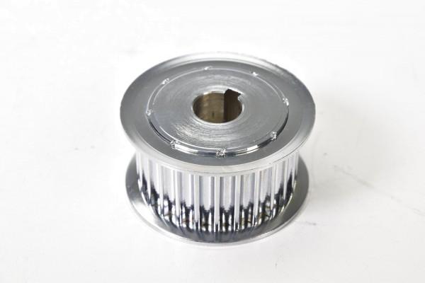 Zahnriemenscheibe Stahl Außen-Ø 75mm Riemenbreite 34mm