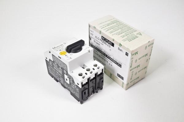 MOELLER PKZM0-2,5 / PKZM0 2 5 / PKZM025, Motorschutzschalter - NEU