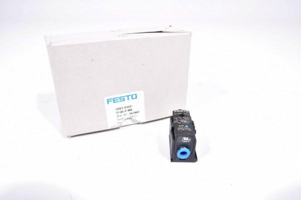 FESTO 567462, SDE5-D10Z-O-Q6-P-M8, Drucksensor