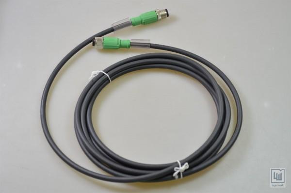 NEU SAC-5P-M12MS//3,0-PUR//M12FS SH PHOENIX CONTACT 1500910 Kabel