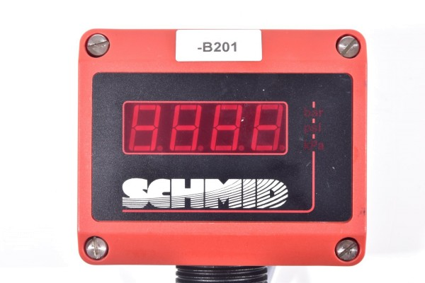 SCHMID EA1306P9, Digital Manometer mit Kabel