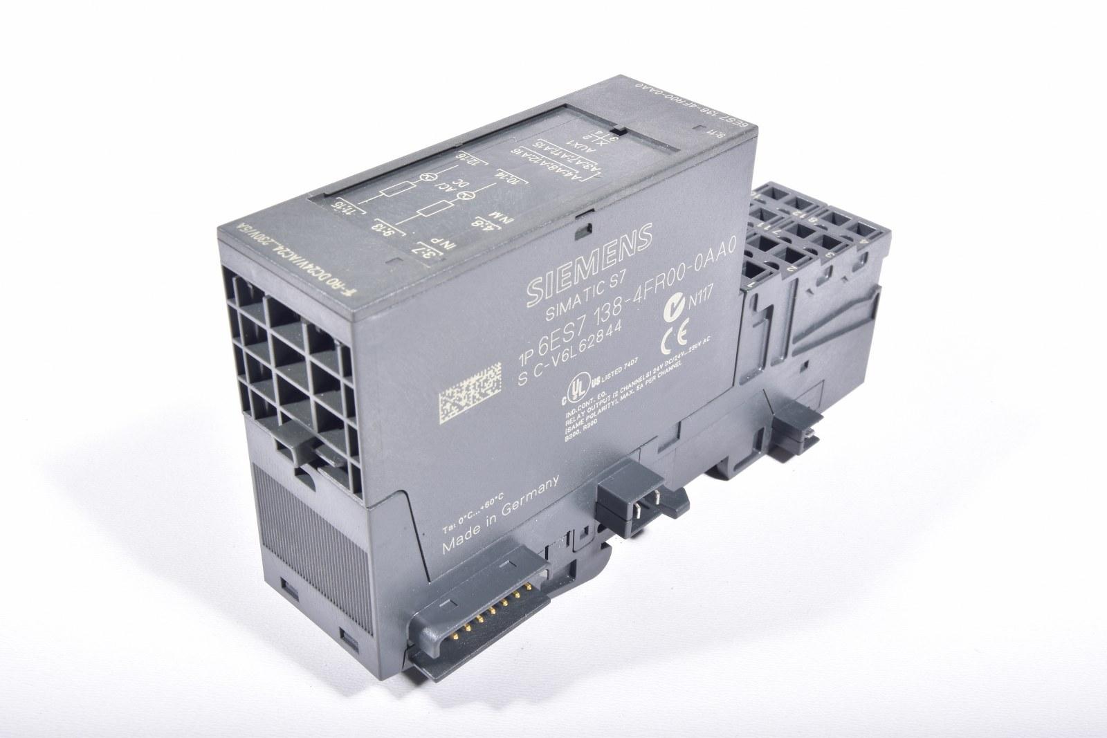 Siemens Simatic S7 6ES7138-4FR00-0AA0
